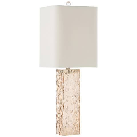 Arteriors Home Dorsey Champagne Glass Table Lamp