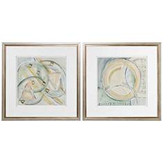 Framed Wall Art Set Of 2 wall art prints - decorative framed & canvas art | lamps plus