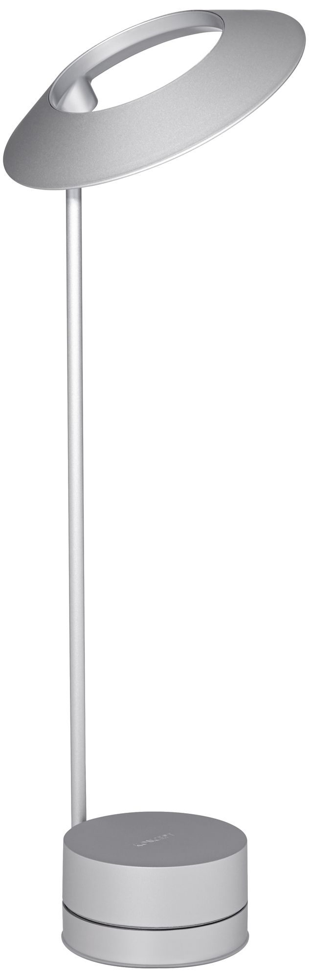 koncept occo silver led desk lamp with usb port