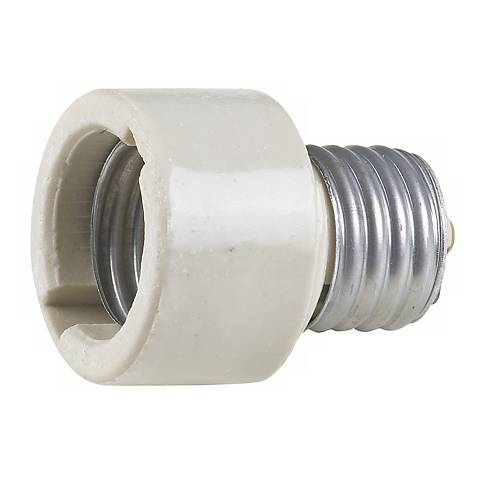Ceramic Socket Extender for Medium Base Light Bulbs