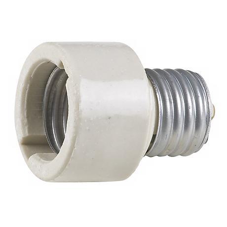 Ceramic Socket Extender For Medium Base Light Bulbs 15494 Lamps Plus