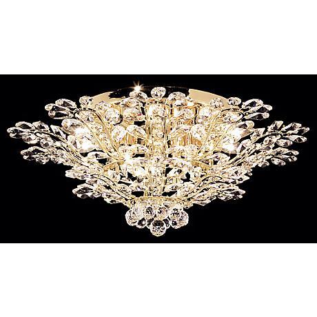 "James R. Moder Florale Collection 27"" Wide Ceiling Light"
