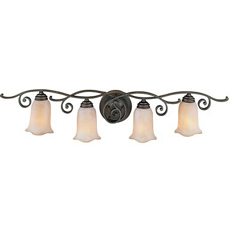 "Feiss Romana Collection 38"" Wide Bathroom Light Fixture"