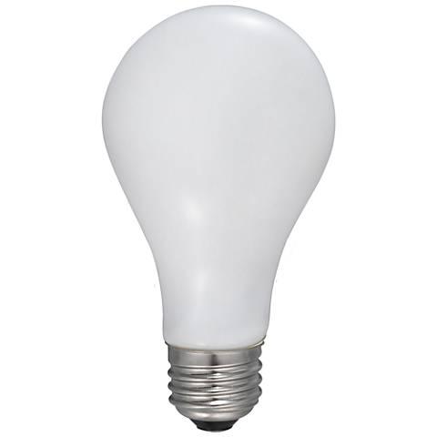75 Watt Equivalent Frost 9 Watt LED Dimmable Filament A21