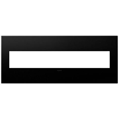 adorne® Graphite 6-Gang Wall Plate
