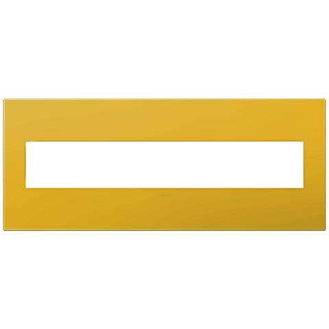adorne® Honey 6-Gang Wall Plate