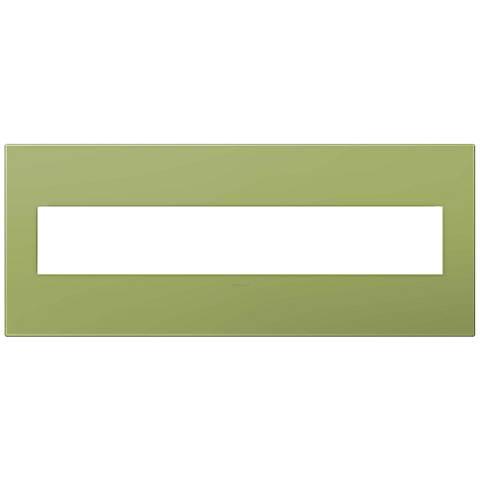 adorne® Lichen Green 6-Gang Wall Plate