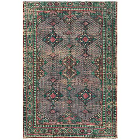 Surya Shadi SDI1011 Faded Emerald Green Area Rug