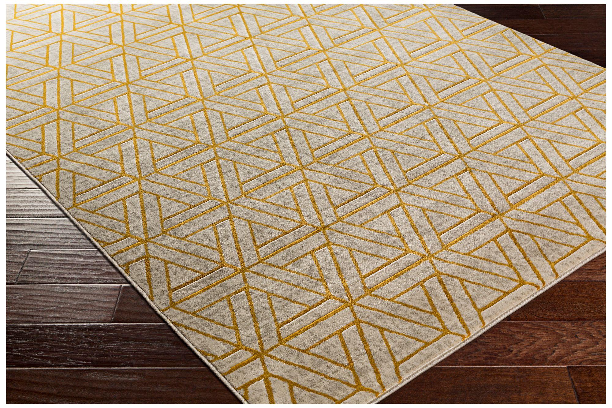 Surya Jax JAX5027 Mustard Yellow Area Rug