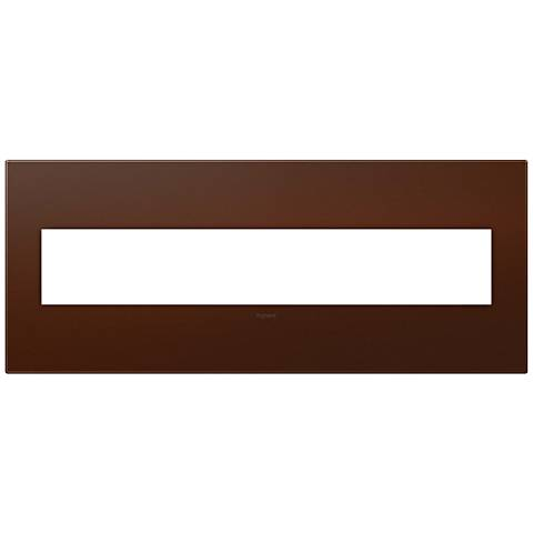 adorne® Soft Touch Russet 6-Gang Wall Plate