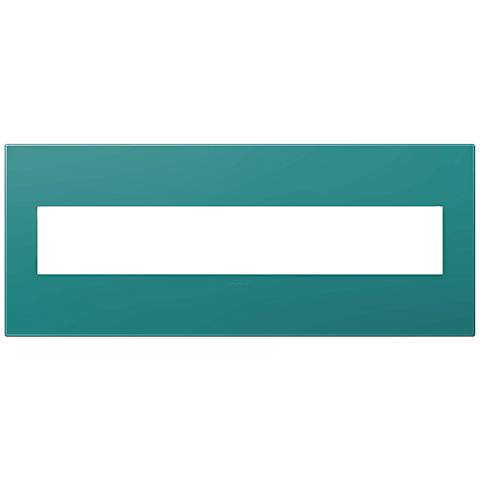 adorne® Turquoise Blue 6-Gang Wall Plate