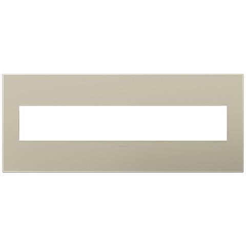 adorne® Titanium 6-Gang Wall Plate