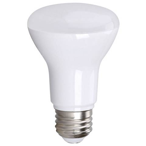 50W Equivalent Bioluz Frosted 7W LED Dimmable Standard BR20