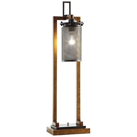 Crestview Collection Gibson Retro Copper Industrial Table Lamp
