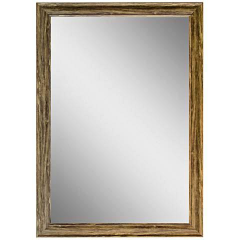 "Crestview Collection Medium Grain 31"" x 41"" Wall Mirror"