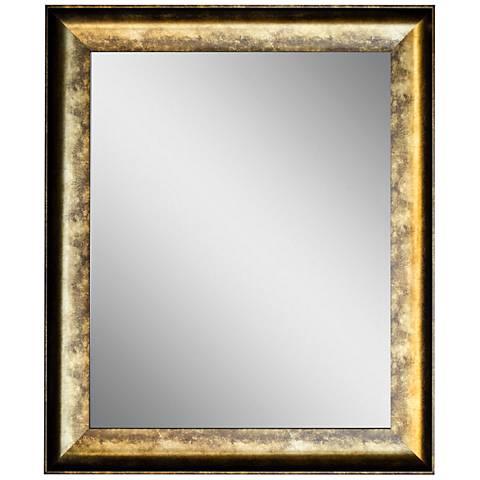 "Crestview Antique Gold 30 1/2"" x 36 1/2"" Wall Mirror"