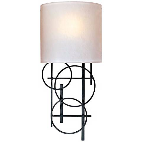 "George Kovacs Circles Collection 18"" High Wall Sconce"