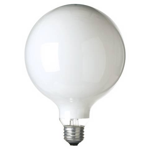 G.E. 150 Watt G-40 White Light Bulb