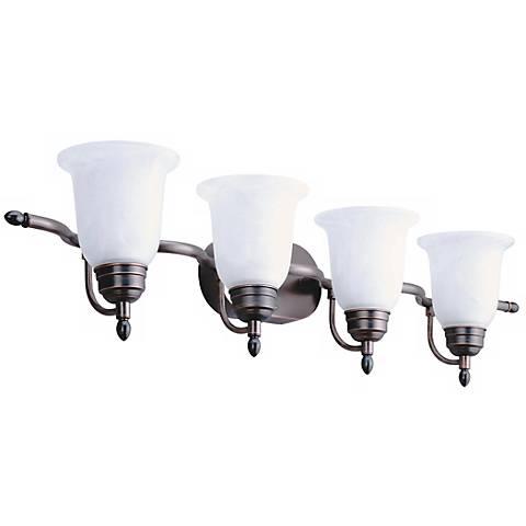 "Sheffield ENERGY STAR® 37 1/4"" Wide Bathroom Light Fixture"