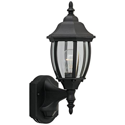 "Tiverton 16 1/4"" High Motion Detector Outdoor Wall Light"