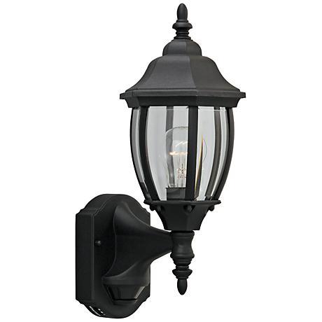 "Tiverton 16 1/4"" High Motion Detector Outdoor Wall Light"