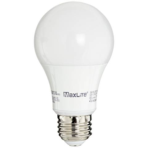 60W Equivalent MaxLite Frosted 10W LED Dimmable Standard