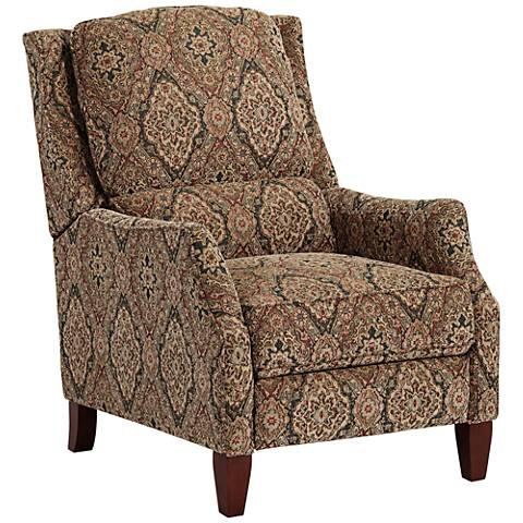 Sandalwood Gold 3-Way Push Recliner Chair