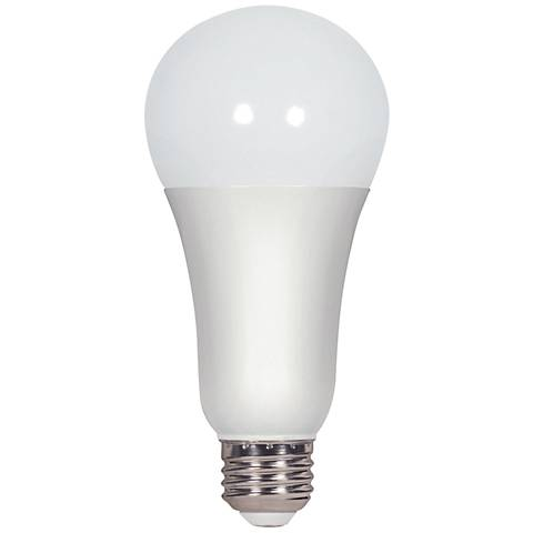 100W Equivalent Frosted 15.5W LED Dimmable Standard Bulb