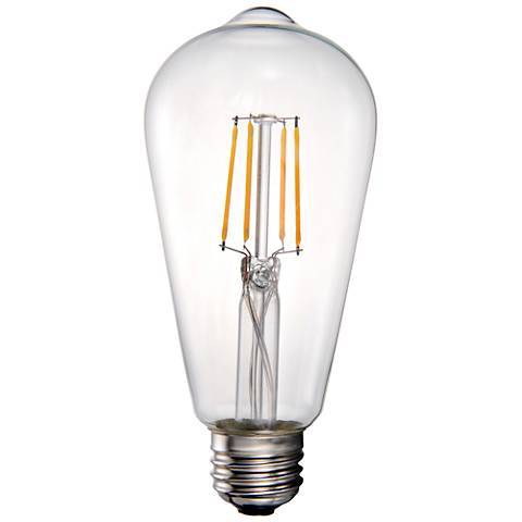 40W Equivalent Tesler Clear 4W LED Dimmable Standard ST19