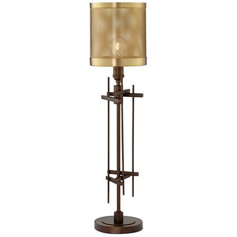 Dezi Oil-Rubbed Bronze Industrial Table Lamp