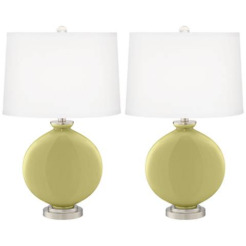 Linden Green Carrie Table Lamp Set of 2