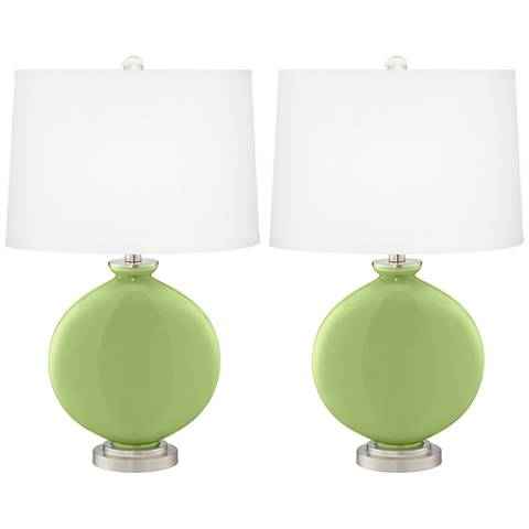 Lime Rickey Carrie Table Lamp Set of 2