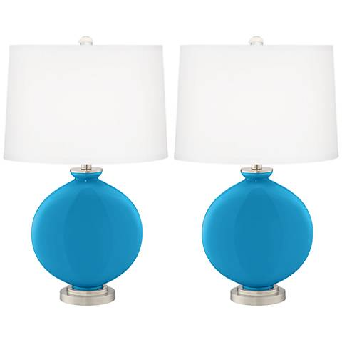 River Blue Carrie Table Lamp Set of 2