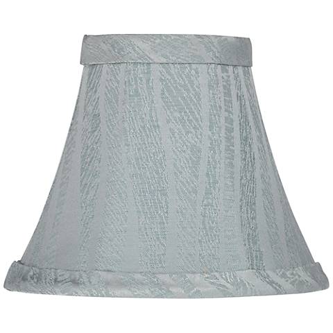 Talk Cool Gray Bell Lamp Shade 3x6x5 (Clip-On)