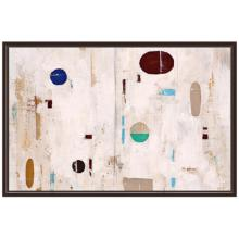 """Play Place 60 3/4"""" Wide Framed Canvas Wall Art"""