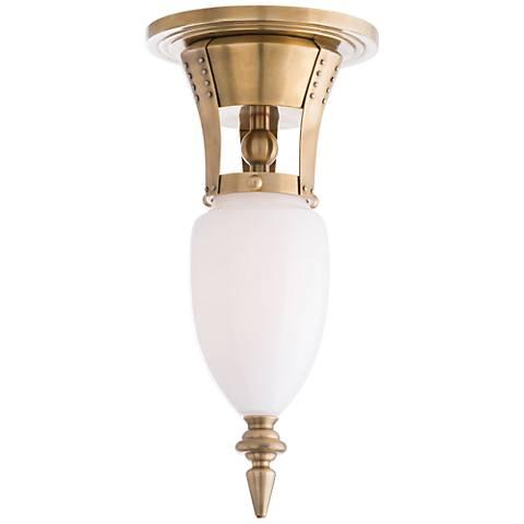 """Arteriors Home Windsor Smith 6""""W Antique Brass Ceiling Light"""