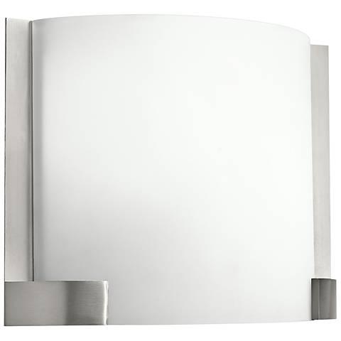 """Kichler Nobu 9 1/2"""" High Brushed Nickel LED Wall Sconce"""