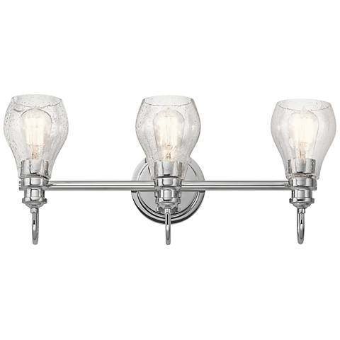 "Kichler Greenbrier 23 3/4"" Wide Chrome 3-Light Bath Light"