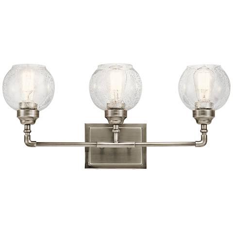 chrome kichler bathroom lighting lamps plus. Black Bedroom Furniture Sets. Home Design Ideas