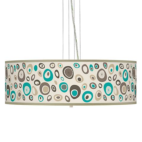 "Stammer 24"" Wide 4-Light Pendant Chandelier"