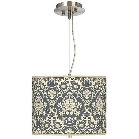 "Seedling by thomaspaul Damask 13 1/2"" W Pendant Chandelier"