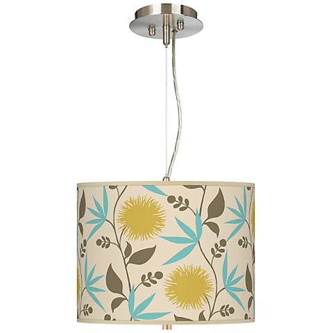 "Seedling by thomaspaul Dahlia 13 1/2""-W Pendant Chandelier"