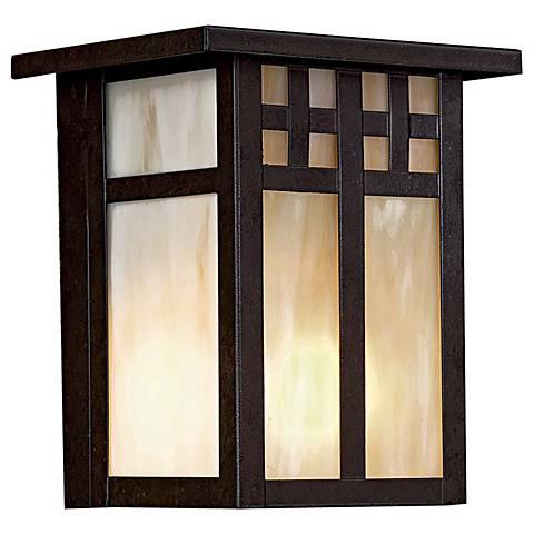 "Scottsdale II 7"" High Outdoor Wall Light"