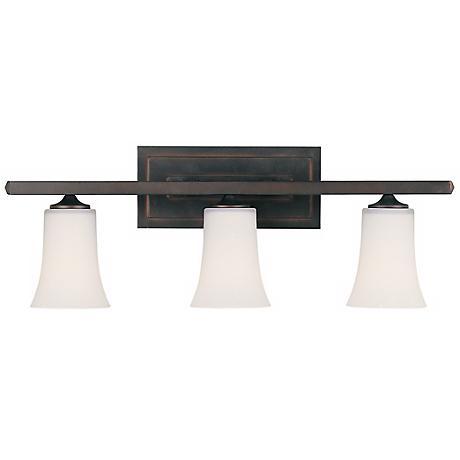 "Feiss Boulevard Collection 24"" Wide Bathroom Light Fixture"