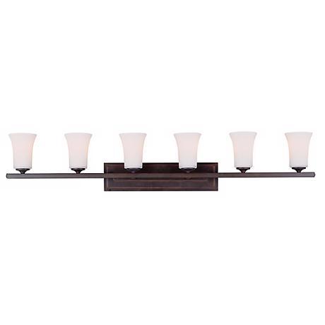"Feiss Boulevard Collection 48"" Wide Bathroom Light Fixture"