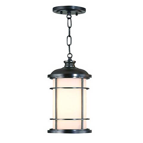 "Feiss Lighthouse Collection 13""H Outdoor Hanging Lantern"