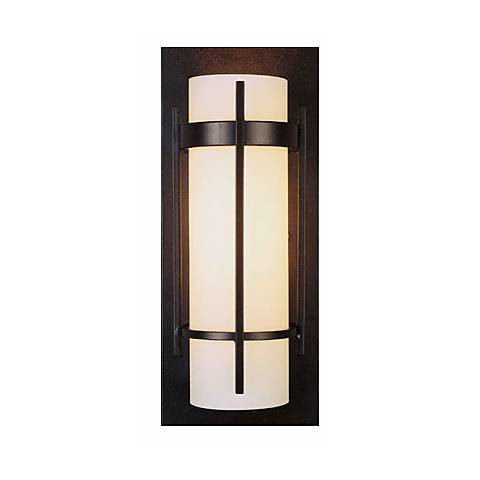 Ada Bathroom Wall Sconces : Hubbardton Forge ADA Compliant Mahogany Wall Sconce - #17760 Lamps Plus