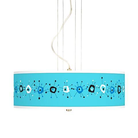 """Sputnickle 20"""" Wide 3-Light Pendant Chandelier"""