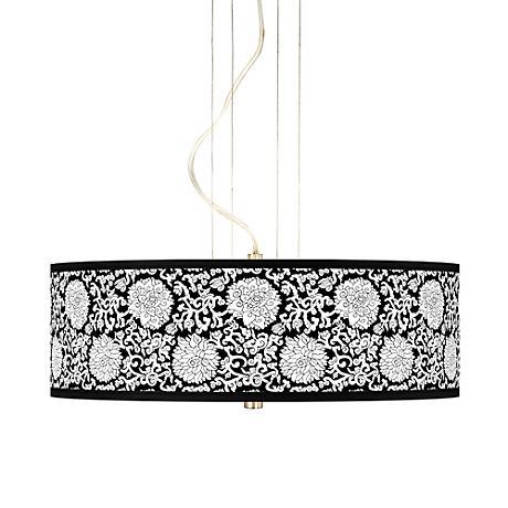 "Seedling by thomaspaul Blossom 20"" 3-Light Pendant"