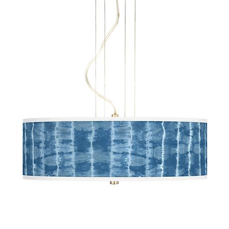 "Cool Reflections 20"" Wide 3-Light Pendant Chandelier"